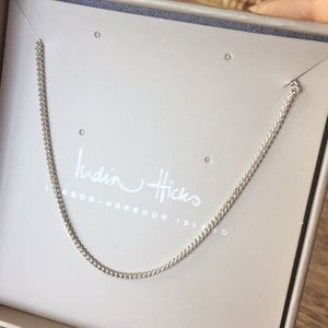 India Hicks Essential chain in silver